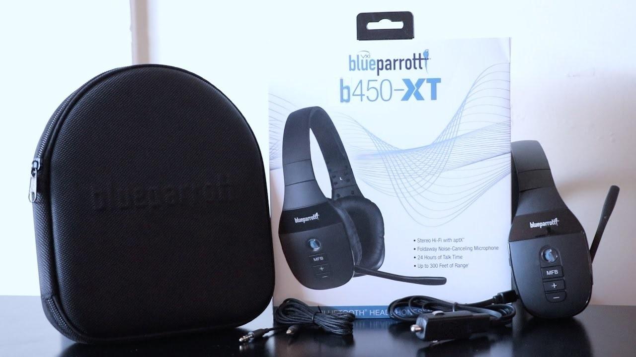 Blue Parrott B450-XT Box